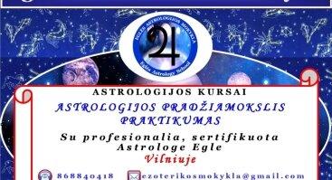 Astrologijos Pradžiamokslio kursai. Praktikumas | Vilniuje
