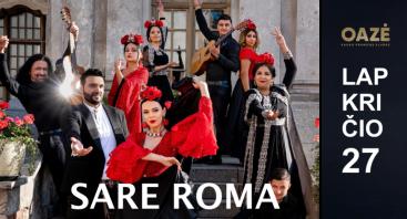 SARE ROMA. Gyvo garso koncertas AV BAXTALO
