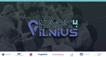 """Hakatonas """"Hack4Vilnius 2019"""""""