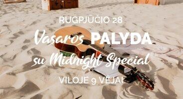 "Vasaros PALYDA su grupe ""Midnight Special"""
