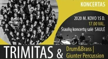 Drum&Brass | Giunter Percussion ir Trimitas