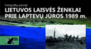 """Fotografijų paroda """"Lietuvos laisvės ženklai prie Laptevų jūros 1989 m."""""""