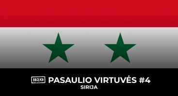 Pasaulio Virtuvės #4: Sirija