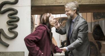 """Filmo """"Nijolė"""" premjera su režisieriumi Sandro Bozzolo ir filosofu, Kolumbijos lietuviu Antanu Mockumi"""