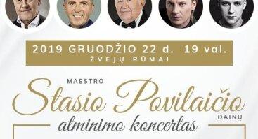 Maestro Stasio Povilaičio dainų atminimo koncertas