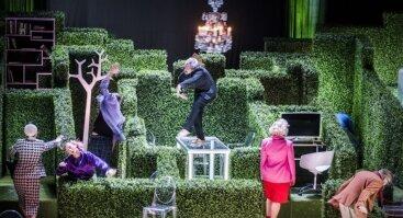 """Lietuvos nacionalinis dramos teatras.  Molière """"Tartiufas"""""""