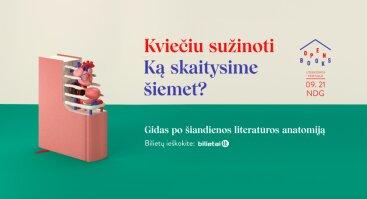 Literatūros festivalis OPEN BOOKS