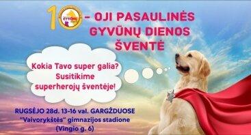 Pasaulinės gyvūnų dienos šventė