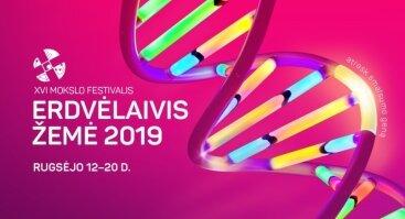 "Mokslo festivalis ""Erdvėlaivis Žemė"" 2019"