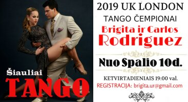 Argentinietiško Tango Pamokos Pradedantiesiems Šiauliuose