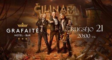 Grafaitės koncertinio sezono atidarymas su grupe ČILINAM!
