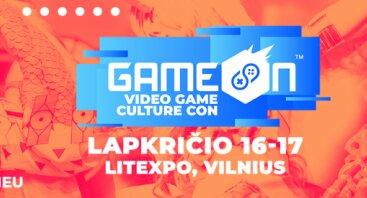 GameOn žaidimų kultūros konventas