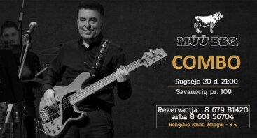 """Gyvo garso koncertas su grupe """"Combo"""""""