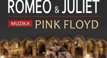 """Vienos šokio teatras """"Hofburg"""". Šou baletas """"Romeo ir Džuljeta"""" pagal grupės """"Pink Floyd"""" muziką"""
