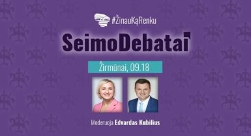 Seimo debatai II turas. Žirmūnų apygardoje
