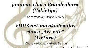 Sakralinės muzikos pusvalandis Bernardinų bažnyčioje