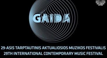 """Šiuolaikinės muzikos festivalis """"Gaida"""" 2019"""