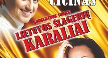 Ryčio Cicino ir Astos Pilypaitės koncertinis turas
