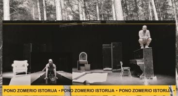"Klaipėdos pilies teatro premjera. ""Pono Zomerio istorija"""