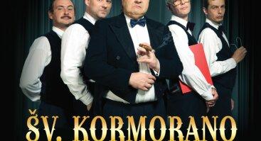 """Keistuolių teatro Šv. Kormorano šešėlinio humoro klubo """"Paskalos ir padavimai"""""""