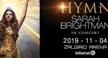 Sarah Brightman Hymn | Kaunas