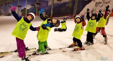 Snieglenčių ir slidžių stovykla vaikams (Druskininkų Snow arenoje)
