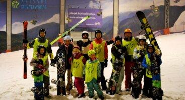 Slidinėjimo savaitgaliai šeimoms ir suaugusiems (Slidės, snielgentės) - Druskininkų Snow arena