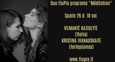 "Duo FluPia ""Meditation"""