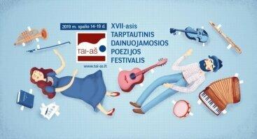 """Tarptautinis dainuojamosios poezijos festivalis """"TAI – AŠ"""" Birštone"""