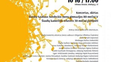 Skambantys Šiauliai Vilniuje