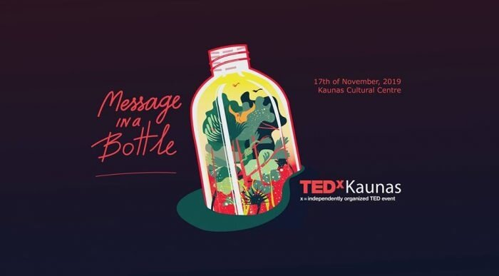 TEDxKaunas 2019: Message in a Bottle