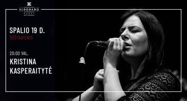 Gyvos muzikos vakaras su Kristina Kasperaityte