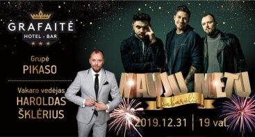 Naujų metų vakarėlis Grafaitėje!