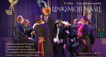 """F.Leharo 2-jų veiksmų operetė """"Linksmoji našlė"""""""