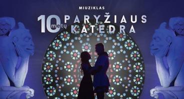 Miuziklas PARYŽIAUS KATEDRA