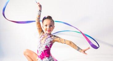 Meninė, baleto ir šokių gimnastika nuo 5-13m.