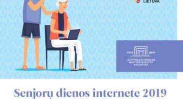 """Akcija """"Senjorų dienos internete 2019"""""""