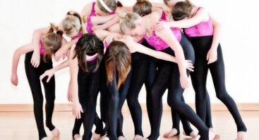 Šiuolaikinio šokio pamokos 8-13m. vaikams ir paaugliams