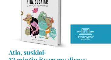"""Evos Tombak naujos knygos """"Atia, suskiai"""" pristatymas"""