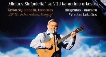 "Kostas Smoriginas ir Vytauto Lukočiaus ""Vilniaus Sinfonietta"" su VDU kameriniu orkestru"