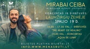 Sakralios muzikos atlikėjų MIRABAI CEIBA koncertas