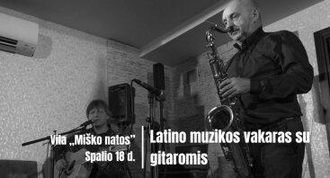 Latino muzikos vakaras su gitaromis