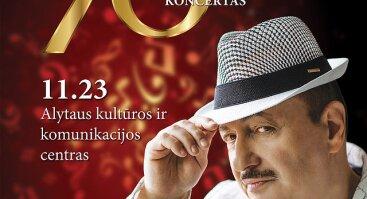 Jubiliejinis Simono Donskovo koncertas Alytuje