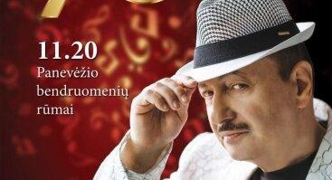 Simono Donskovo 70-mečio jubiliejinis koncertas Panevėžyje