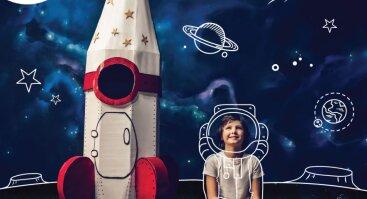 Kosmoso pramogos vaikams!