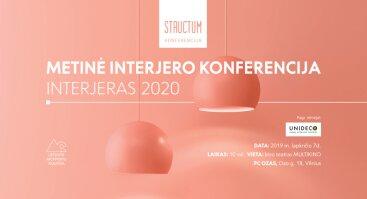 Nemokama konferencija: Interjeras 2020