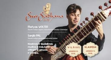 """XI tarptautinis Indijos klasikinio meno festivalis """"SurSadhana 2019"""""""