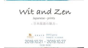 "Musashino meno universiteto profesoriaus Ryuta Endo ir studentų paroda ""Wit and Zen"""