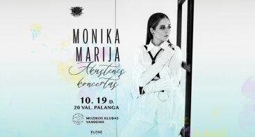 Monikos Marijos akustinis koncertas