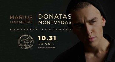 Donatas Montvydas | Akustinis koncertas